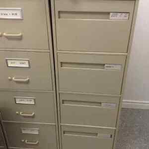 Legal size 4 draws filing cabinets