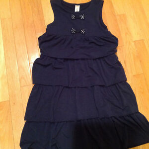 Gymboree Blue Ruffle Dress - Size 12