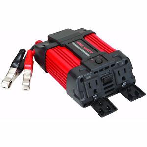 Car/Truck/Home/Camper power inverter 400 watt 12v DC to 120v AC
