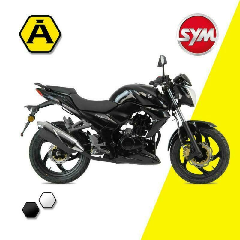 Sym Wolf SB 125 CBS Naked Sports Motorbike Learner legal