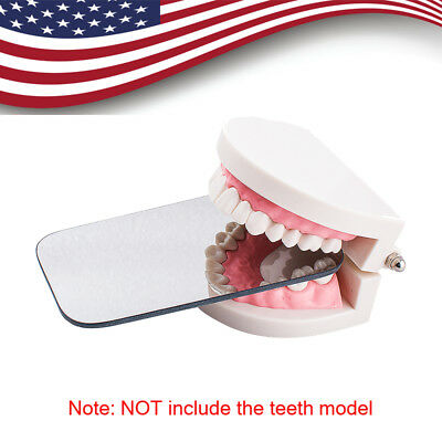 Dental Intraoral Orthodontic Photographic Glass Mirror 2sided Rhodium Occlusal A