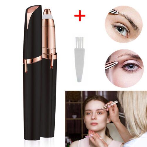 Elektrischer Augenbrauen Eyebrow Rasierer Damen Stift Trimmer Epilierer DE