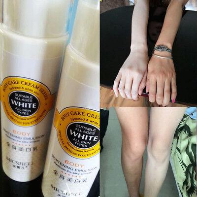 Instant Whitening Body Lightening Face Cream Skin Sunscreen Waterproof 150ml