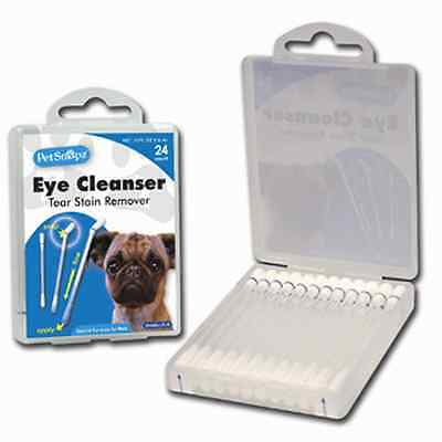 *NEW~COOL* Dog liquid-filled Swabs For Eye Tear Stains X 4 Packages