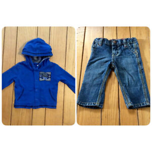 17a9ae1825e Boys DC Hooded Sweater   Oshkosh Jeans - St. Thomas