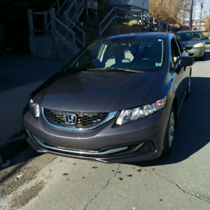 2015 Civic *low km* partial trade accepted