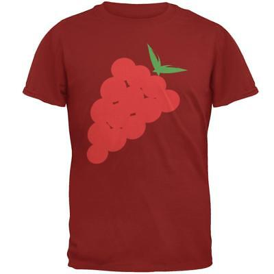 Halloween Red Grapes Costume Mens T Shirt](Halloween Costume Grapes)