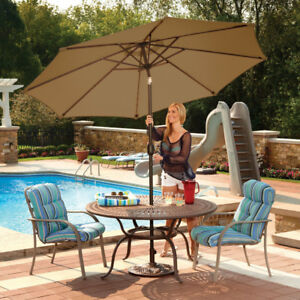 Island Umbrella Mirage Full-Sized 8.8 ft. Market Patio Umbrella