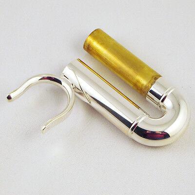 R11 NEW Genuine Yamaha Trumpet Water Key Screw Silver Plated YTR9335CHS 2