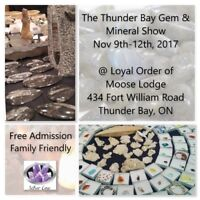 Rocks Galore at the Thunder Bay Gem and Mineral Show