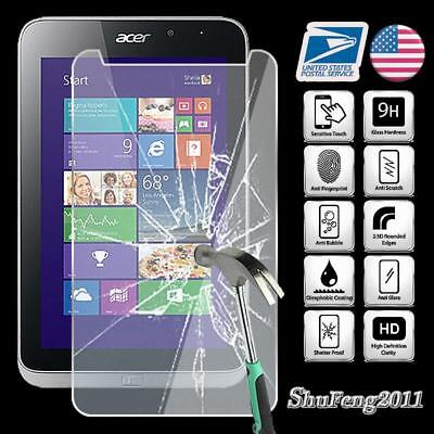 Tablet Tempered Glass Screen Protector Cover For Acer Iconia W4 820