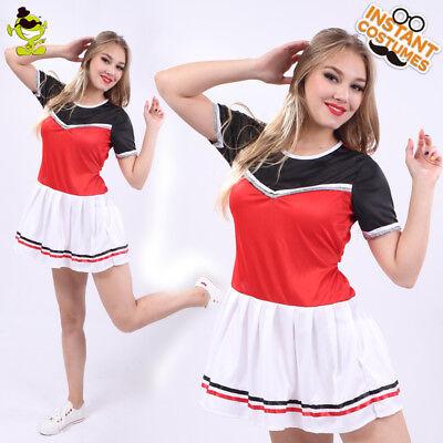Cheerleader Costume For Adults (Cheerleader Costume Adult Lifeful School Sportgirl Cosplay Fancy Dress for)