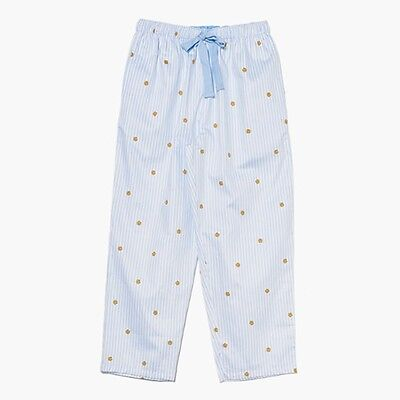 Kakao Friends Sky Blue Stripe Pants Men Ryan Home Wear Sleepwear Free Size