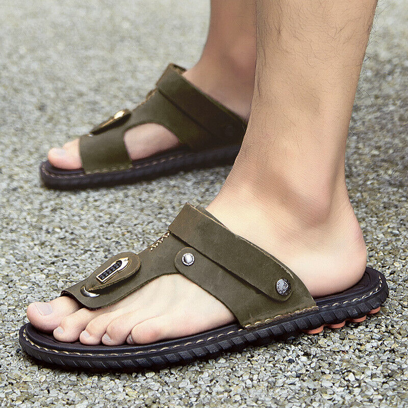 Men Sandals Slippers Shoes Outdoor Beach Sports Flip Flops New Sneakers  Fashion   eBay