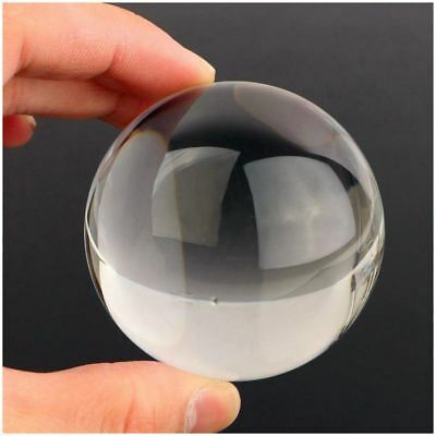 60mm Clear Acrylic Ball Transparent contact Manipulation Juggling ball Gift J9D5