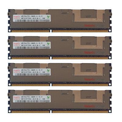 16GB Kit 4x 4GB DELL POWEREDGE T410 T610 R610 R710 R715 R810 R720xd Memory Ram