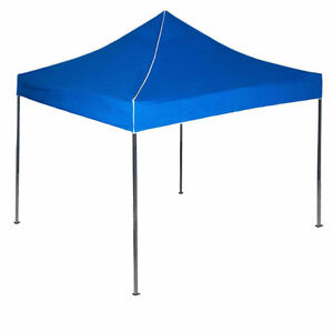 10 ft. x 10 ft. Blue Canopy Tent - Very Lightly Used
