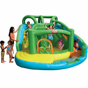Wet or Dry Little Tikes Inflatable Bouncy Castle Waterslide