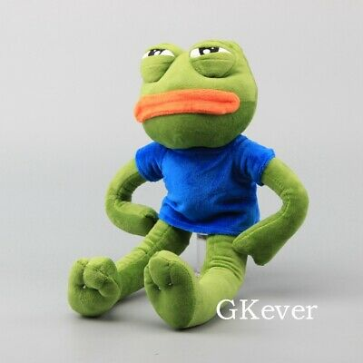 Pepe The Frog Sad Frog Pluh Doll Stuffed Animal Toy Children Birthday Gift 18""