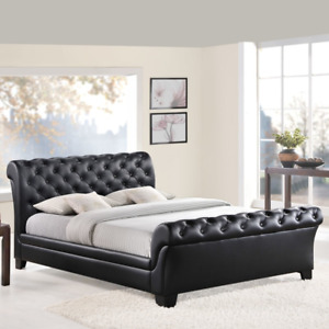 Brand New Faux Leather Queen Bed