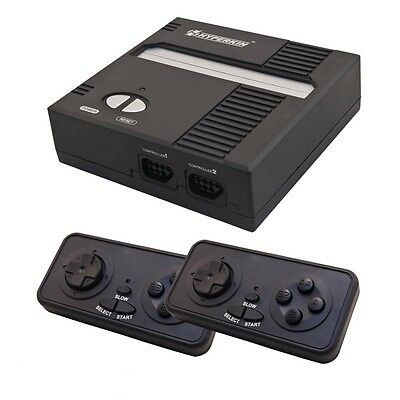 Retron 1 NES System Nintendo FC Game Console 8-Bit Top Loader - Black