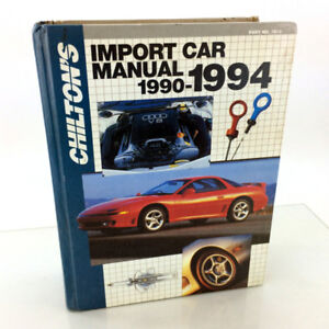 Chilton 7913 Import Can Repair Manual 1990-1994 TuneUp Shop Book