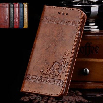 Für iPhone 5 5s SE 8 7 6s Luxus Wallet Tasche Flip Case Leder Cover Schutz