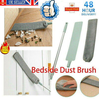 Bedside Long Handle Dust Brush Mop Sweep Artifact Household Crevice Gap Clean UK