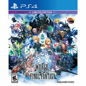 World Of Final Fantasy Day1 Edition Sealed.