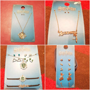 Harry Potter Earrings & Necklaces ~ New