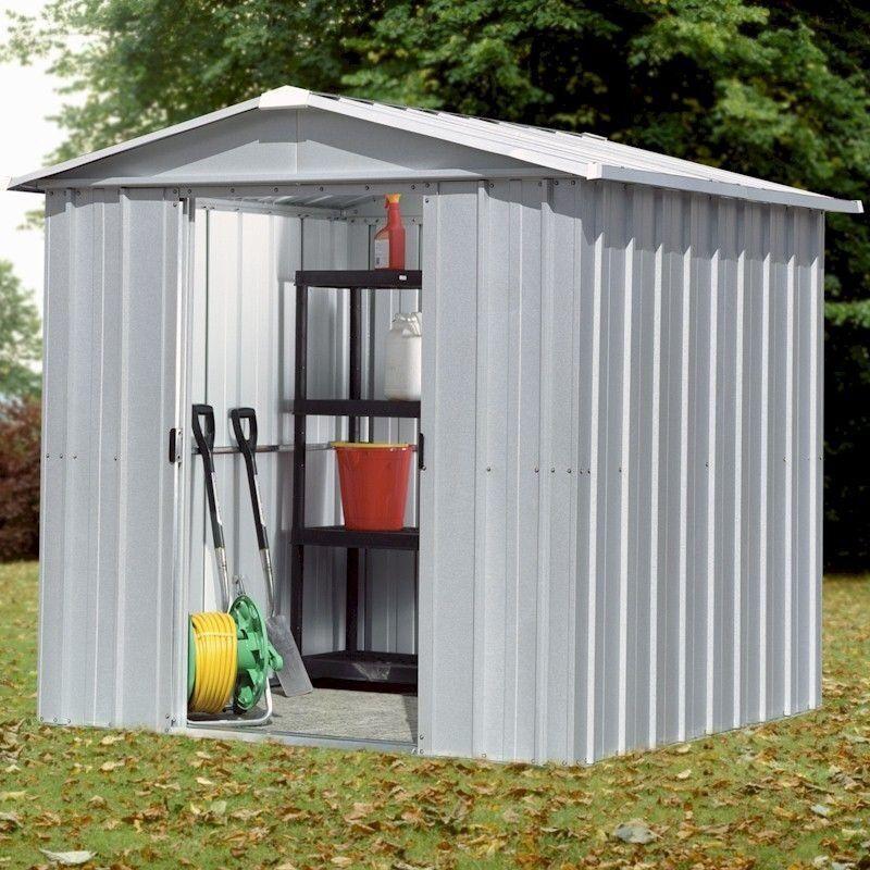 Galvanised Yardmaster Garden Shed X Good Condition In
