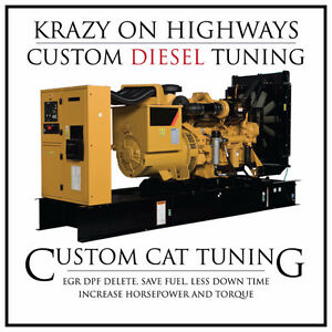 CAT Industrial Genset EGR & DPF Removal & MORE!