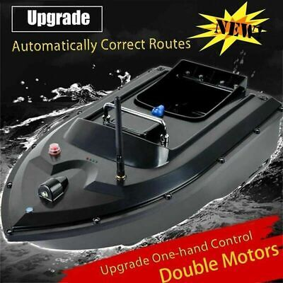 RC Fishing Bait Boat 2 Motors Fish Finder 500M Wireless Single Hand Control 2020