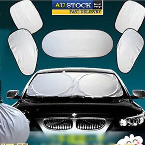 6Pcs Auto Front Rear Window Sun Shade Car Windshield Visor Cover Block AU Local