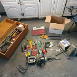 Old tools lot