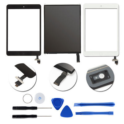 LCD+Touch Screen Digitizer Home Button Replacement For iPad Mini1&2&3 Lot USA