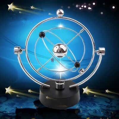 Newtons Cradle Metal Balance Ball Pendulum Physics Science Home Desk Decor Gifts