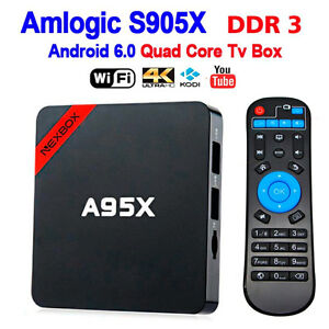 android tv box a95x  brand new in boxes