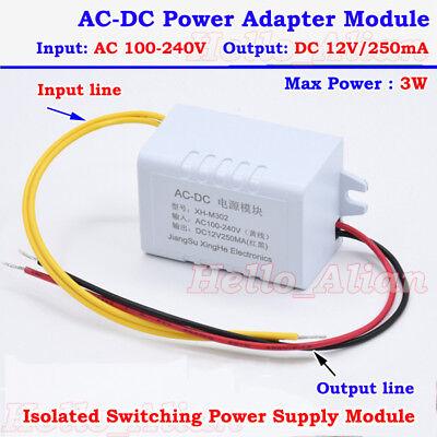 Ac-dc Converter 110v 220v 230v To 12v 250ma Isolated Power Switching Transformer