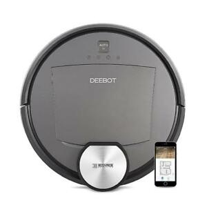 ECOVACS DEEBOT R95 Robotic Vacuum with the latest mapping technology, Wi-Fi