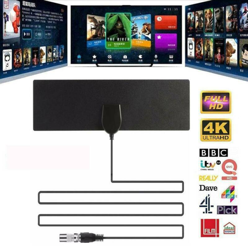 4K Digital Antena 960 Mile Range HD TV Antenna Indoor 1080P