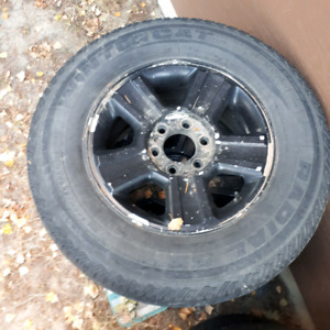 Studded winter tires 265 70 R17