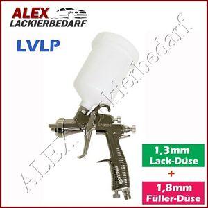 FINIXA LVLP Lackierpistole 1,3mm+1.8mm Düse / Lack Klarlack  Füller / IWATA W400