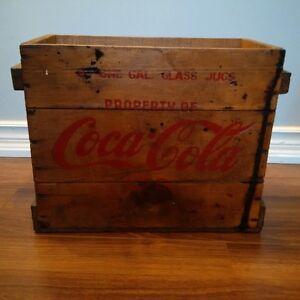 coca cola crate