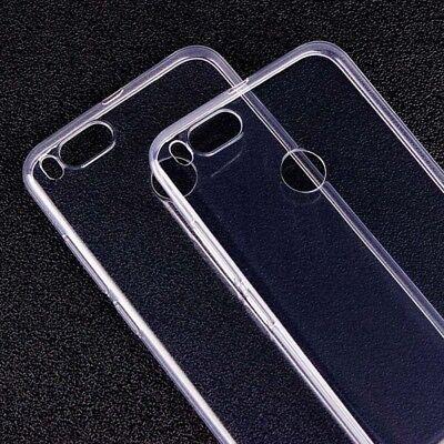 Silikoncase Transparent 0,3 mm Ultradünn Hülle für Xiaomi Mi 5X Mi A1 Tasche Neu