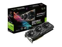 ASUS ROG-STRIX-GTX1080TI-O11G-GAMING 11 GB GDDR5X PCIe 3.0 x16 DVI Graphics Card - Black