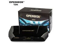 Latest Openbox V9S Satellite Box With 12 Months Gift Wifi IPTV