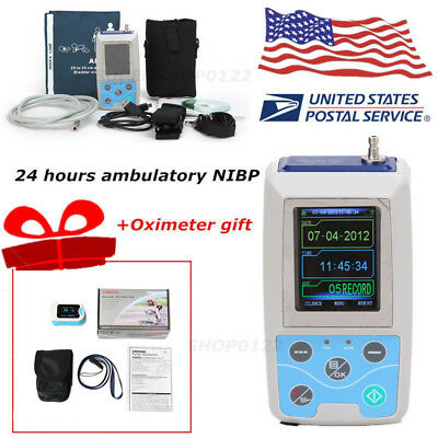 Usa Ce Fda Automatic 24 Hours Arm Ambulatory Blood Pressure Adult Abpm50 Sw