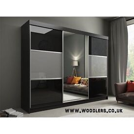 🔥SPECIAL PROMOTION🔥RUMBA Sliding Door German Wardrobe🔥ALL COLOR AVLABLE🔥