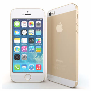 Gold Apple iPhone 5s With 32 GB Memory! Telus Or Koodo